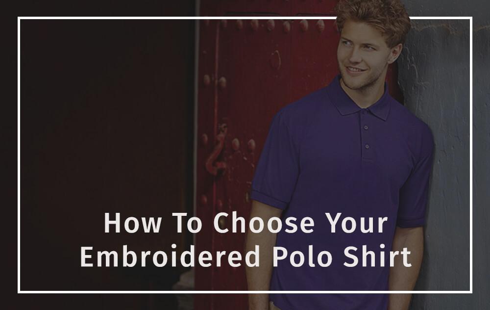 0e5b4429 How to embroider a polo shirt