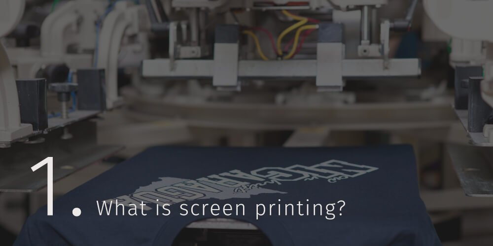 printed screen printing image