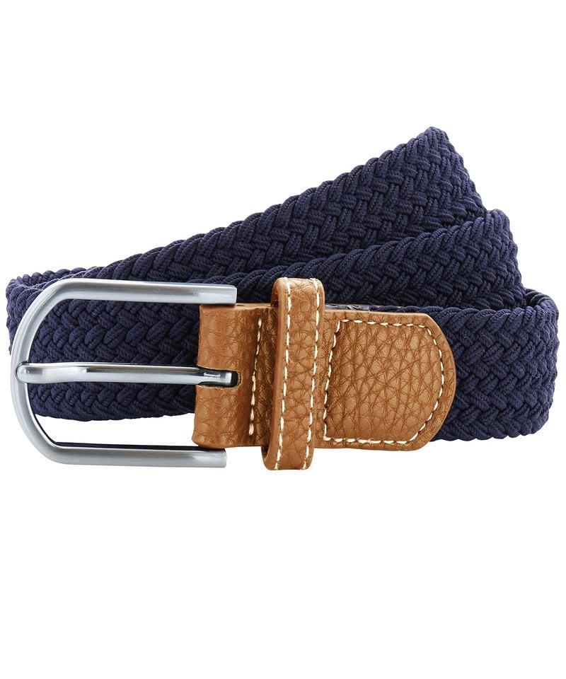 Asquith /& Fox Mens Woven Braid Stretch Belt