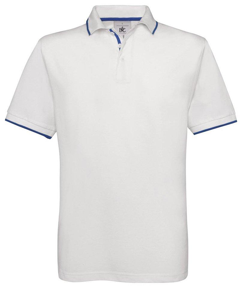 4d5d4f1b0c1 B C Collection Men s Safran Sport Contrast Trim Polo Shirt BA351