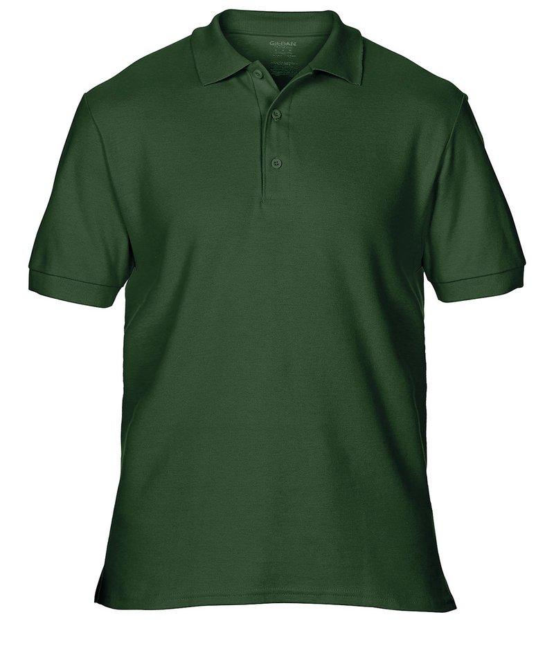 Gildan Men 39 S Premium Cotton Side Vent Sports Polo Shirt Gd042