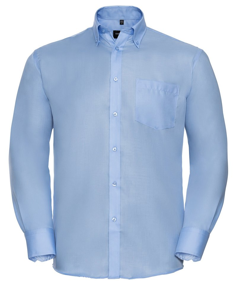Russell collection men 39 s ultimate non iron long sleeved for Men s no iron dress shirts