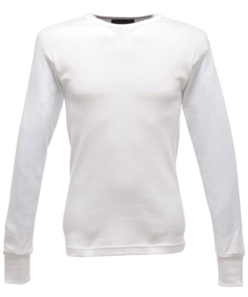 Regatta men 39 s long sleeve thermal t shirt rg289 for Thermal t shirt long sleeve