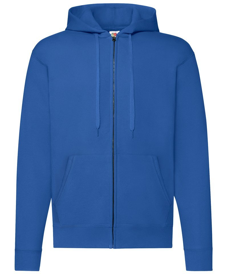 fruit of the loom men 39 s zip through hooded sweatshirt ss222. Black Bedroom Furniture Sets. Home Design Ideas