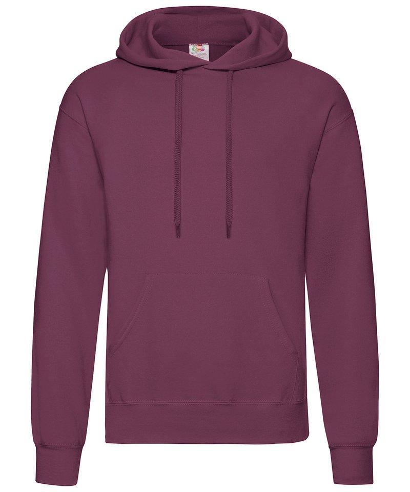 fruit of the loom classic 80 20 hooded sweatshirt ss224. Black Bedroom Furniture Sets. Home Design Ideas