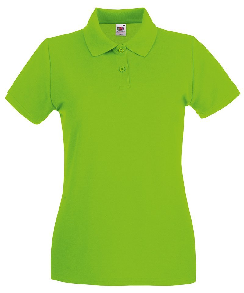 ... Lady-fit premium polo Lime ...