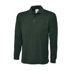 Uneek Clothing Unisex Long Sleeve Polo Shirt