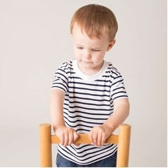 Larkwood Toddlers Short Sleeve Striped T-Shirt