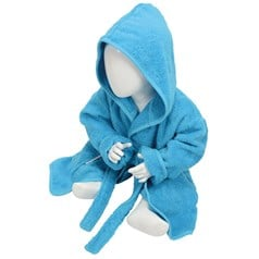 A&R Towels Baby Babiezz™ Hooded Bathrobe