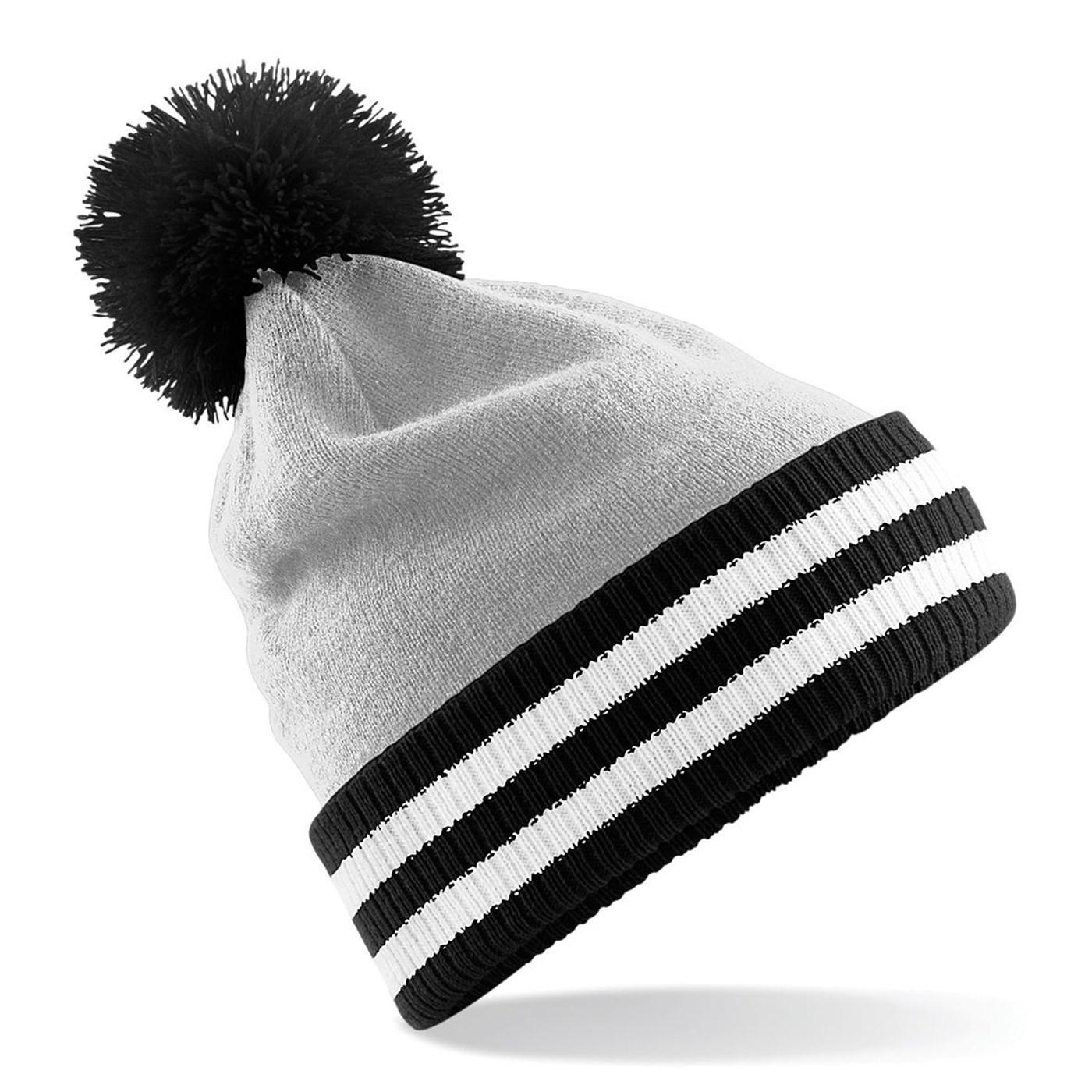 5036b5d3b1e Beechfield Adult s Classic Varsity Beanie Hat BC453