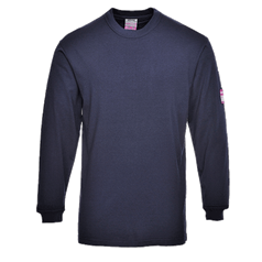 Portwest ModaFlame Resistant Anti-Static Long Sleeve T-Shirt