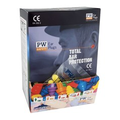 Portwest Safety Box of 500 Ear Plug Dispenser Refill Pack