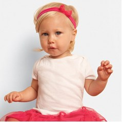 Bella Canvas Baby Rib Short Sleeve Baby T-Shirt