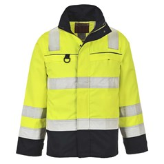 Portwest BizFlame Multi Flame/Chemical Resistant Hi Vis Jacket