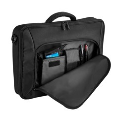 Quadra Portfolio Laptop Case in Black