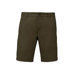Washed effect Bermuda shorts