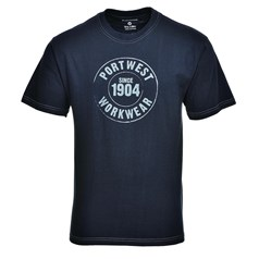 Portwest Cogs Print Work T-Shirt