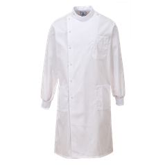 Portwest 65% Polyester and 35%  Cotton Texpel Finish Howie Lab Coat