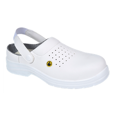 Portwest Compositelite ESD Non Metallic Perforated Safety Clog SB AE