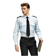 Premier Easycare Long Sleeved Pilot Shirt
