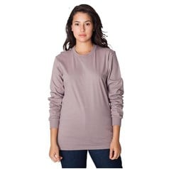 American Apparel Unisex Fine Jersey Long Sleeve T-Shirt (2007)
