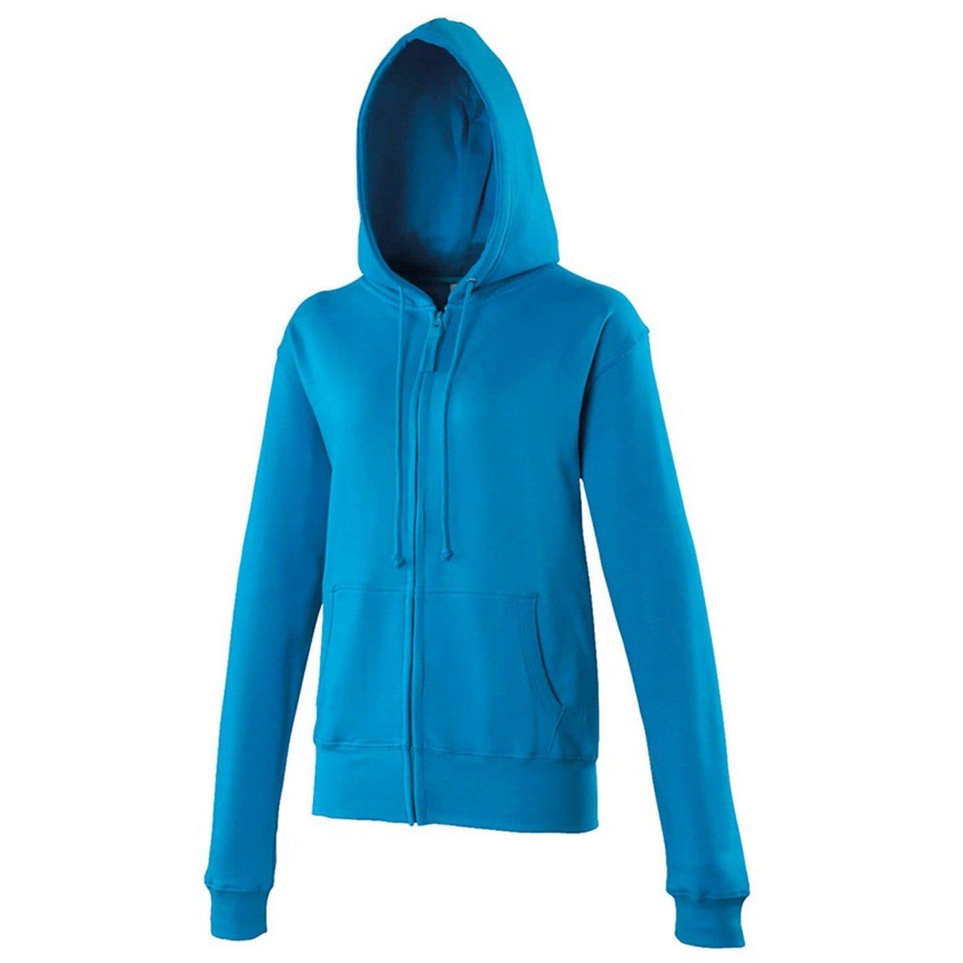2db75b2e AWDis Just Hoods Girlie Zoodie Hooded Sweatshirt JH055