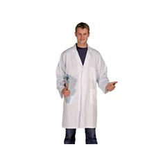 SuperTouch Polycotton Pocket Lab Coat