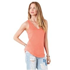 Bella Canvas Ladies Flowy V-neck Tank Top