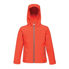 Regatta Junior Kids Octagon 3-layer Hooded Softshell