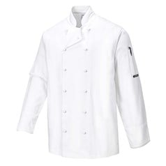 Portwest Norwich Coolite Aerated Mesh Underarm Chefs Jacket