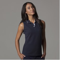 Gamegear Ladies Sports Sleeveless Polo Shirt