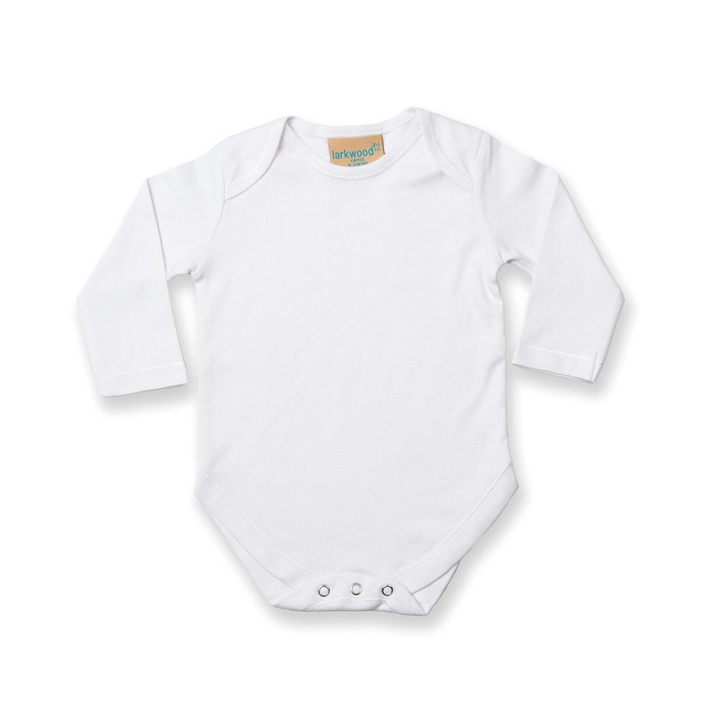f9ab507b3176 Larkwood Baby Long Sleeve Bodysuit LW52T