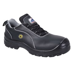 Portwest Compositelite ESD Non Metallic Leather Safety Shoe S1