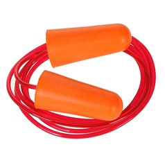 Portwest Safety Box of 200 Corded PU Foam Ear Plugs