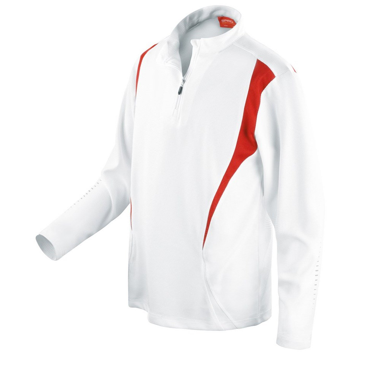 b6097dcc3 Spiro Adult s Cool Dry Fabric 1 4 Zip Trial Training Top S178X