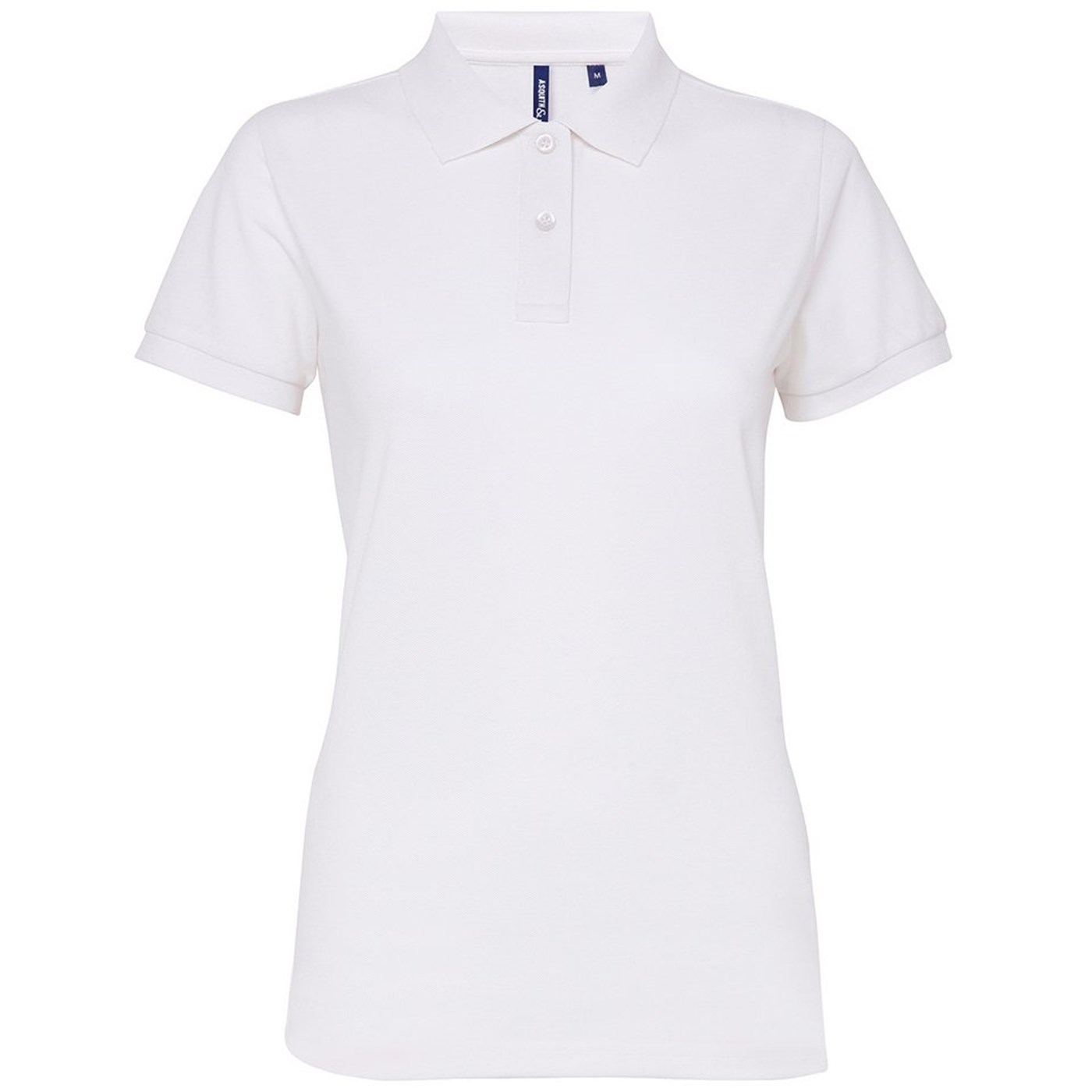 c5b859aa Asquith and Fox Women's Poly/Cotton Blend Polo Shirt