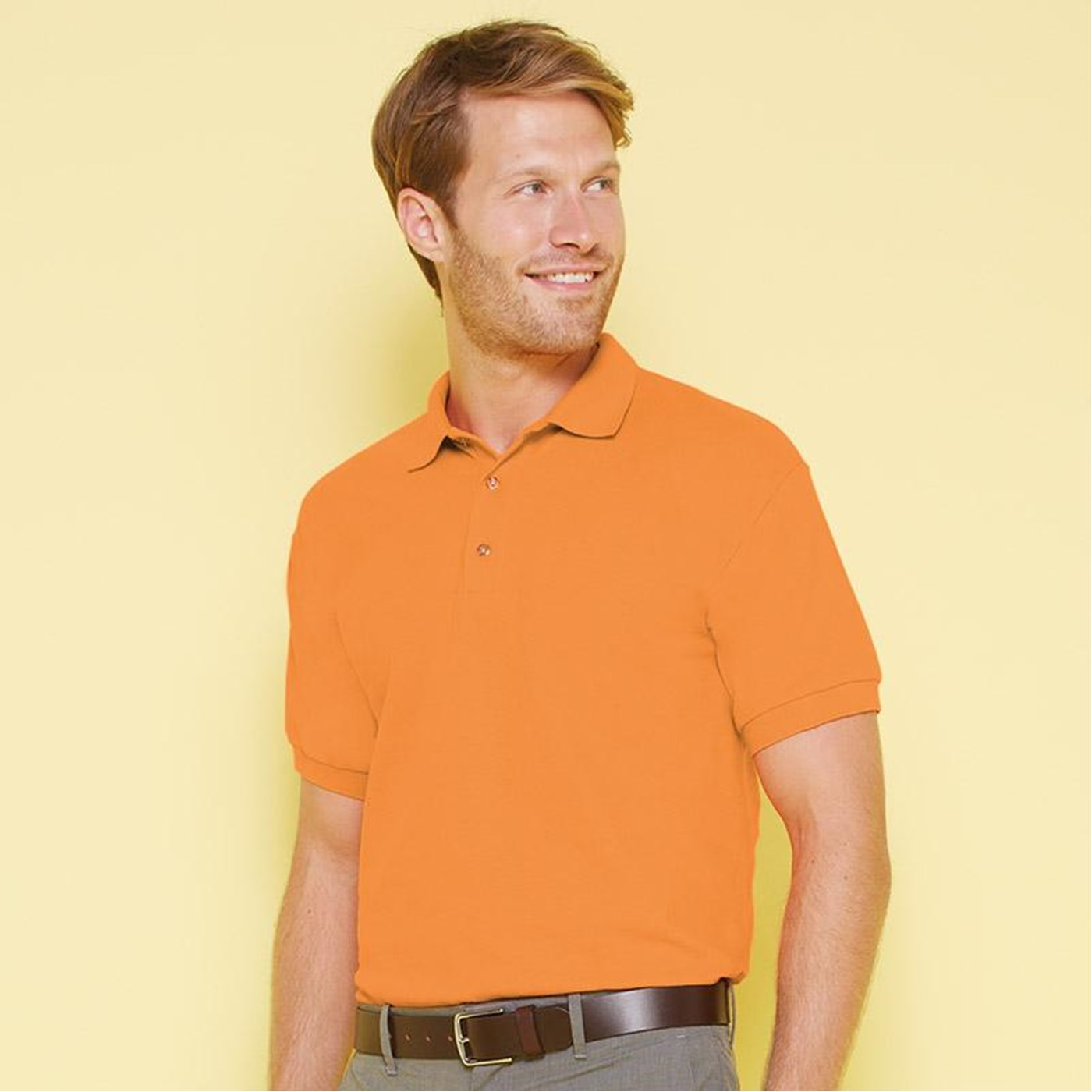 Gildan Adults Ultra Cotton Pique Polo Shirt Gd038