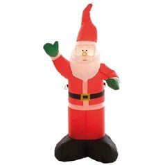 Christmas Shop is a 1.2m Inflatable Santa Character