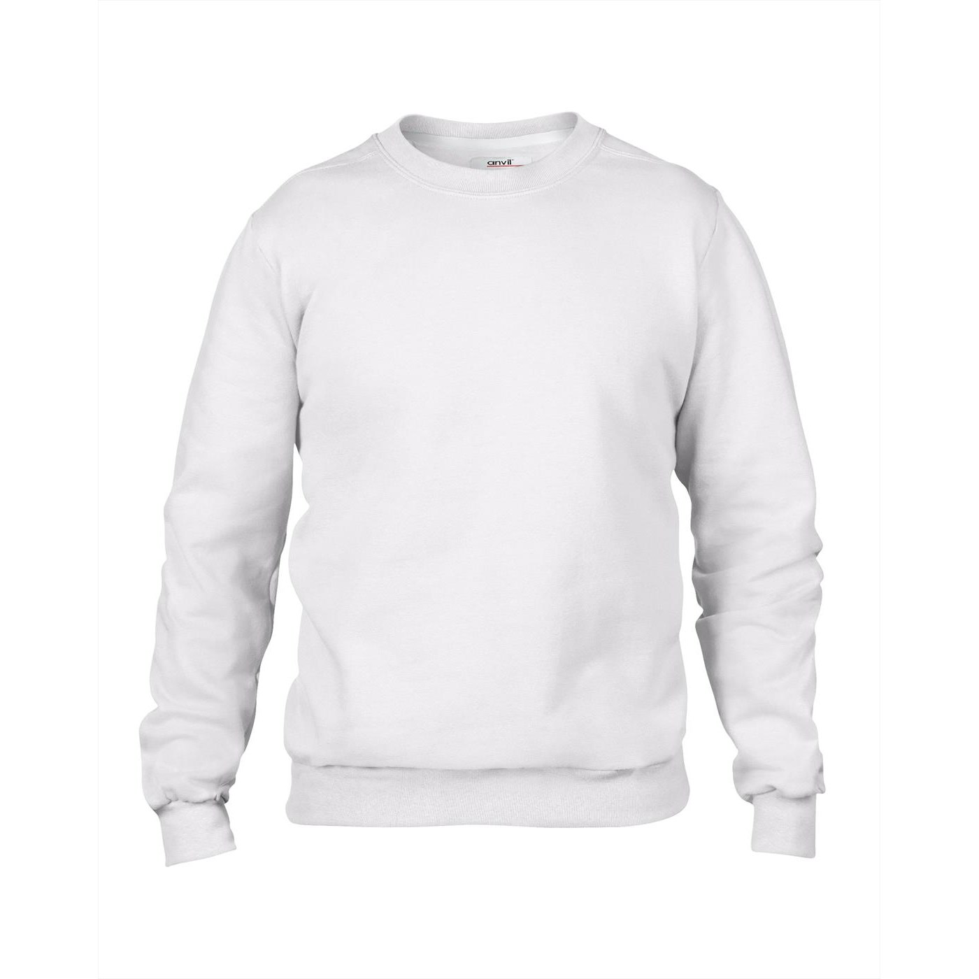 6ef2fc56 Anvil Men's Set-in Sleeve Sweatshirt AV501