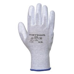 Portwest Antistatic PU Palm Dipped Glove