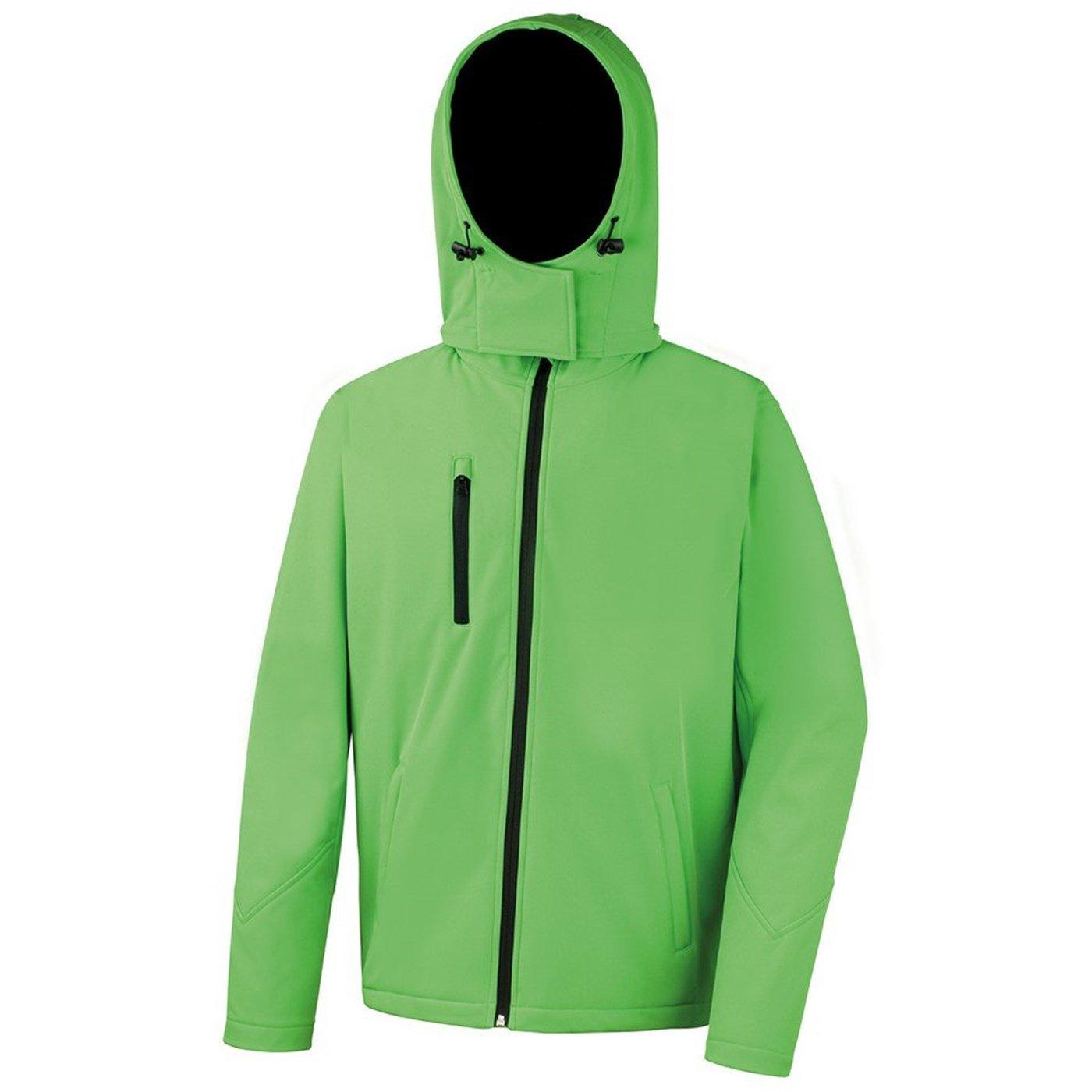 Result Core Mens TX Performance Hooded Softshell Jacket Waterproof R230M
