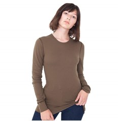 American Apparel Unisex Baby Thermal Long Sleeve T-Shirt (T407)