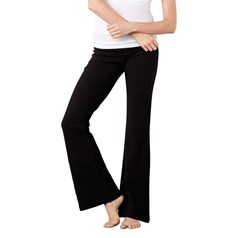 Bella Canvas Ladies Cotton Spandex Fitness Trousers