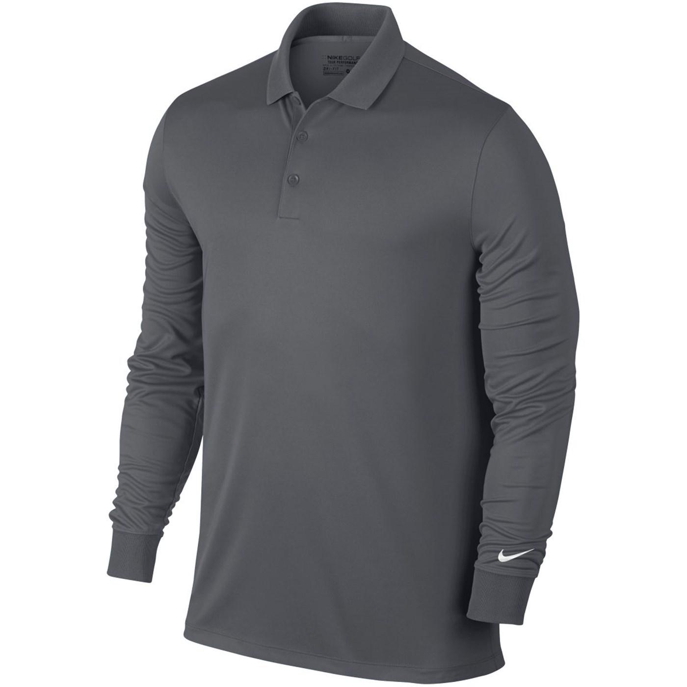 8c6bb9d5 Nike Men's Victory Dri-Fit Long Sleeve Golf Polo Shirt