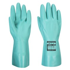 Portwest Flock Lined Nitrosafe Chemical Resistant Gauntlet