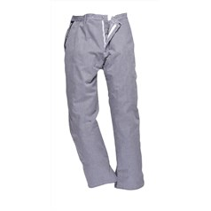 Portwest Barnet Check Lightweight Chefs Trousers