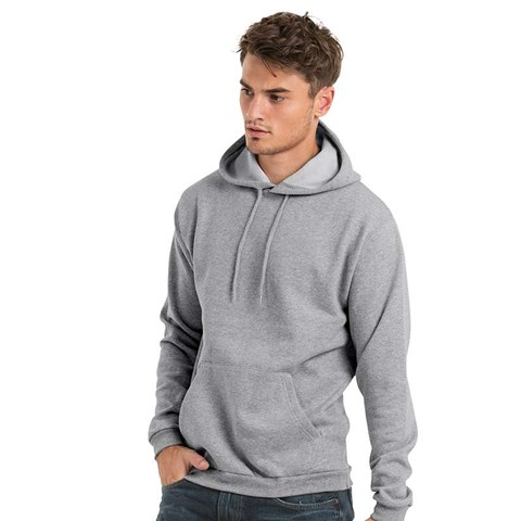 B&C Collection Adult's Hooded Sweatshirt BA411