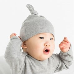 BabyBugz Baby Pure Cotton One Knot Hat