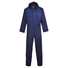 Portwest CE Certified Bizweld Flame Resitant Hooded Coverall