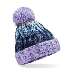 Beechfield Infant/Junior Corkscrew Pom Pom Beanie